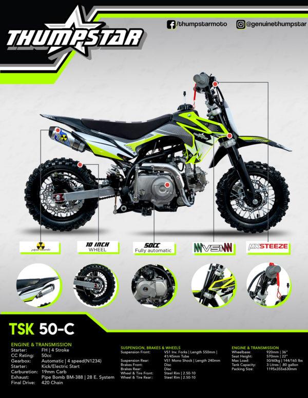 TSK 50-C brochure