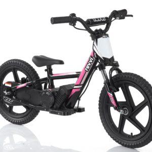 pink revvi 16 plus balance bike